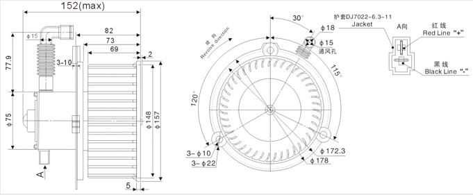 zhf-2154a-空调鼓风机b-18(欧曼)